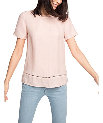 ESPRIT Collection 076EO1F010, Blusa Mujer, Rosa (Nude), 36