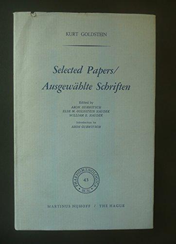 Selected Papers / Ausgewählte Schriften.