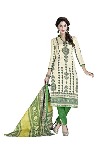 Readymade Minu Suits Cotton Stitched Dress Material New Beige