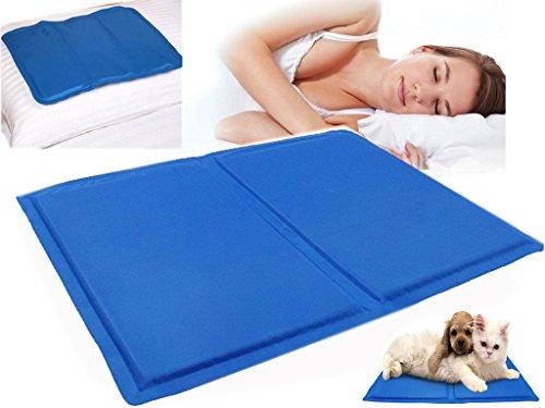 SONIC Kalten Kühlung Kissen Chilled Laptop Gel-Matte Pad Bett Cool Sleeping Aid -
