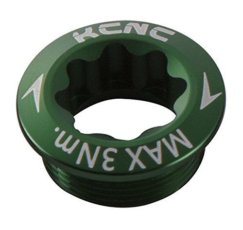 KCNC Kurbel Schraube M20x P1.0Für Shimano linken Arm 6Farben grün grün M20 x P1.0 (Linke Kurbel Schraube)