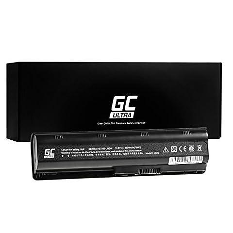 Green Cell® ULTRA Série Batterie pour HP Pavilion G6-1311SE Ordinateur PC Portable (Les Cellules Originales Panasonic, 6800mAh, Noir)