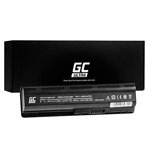 GC® Ultra Serie Laptop Akku für HP Pavilion DM4-1090LA DM4-1095BR DM4-1100 DM4-1100EE DM4-1100EG (Original Panasonic Zellen 6800mAh 10.8V Schwarz) -