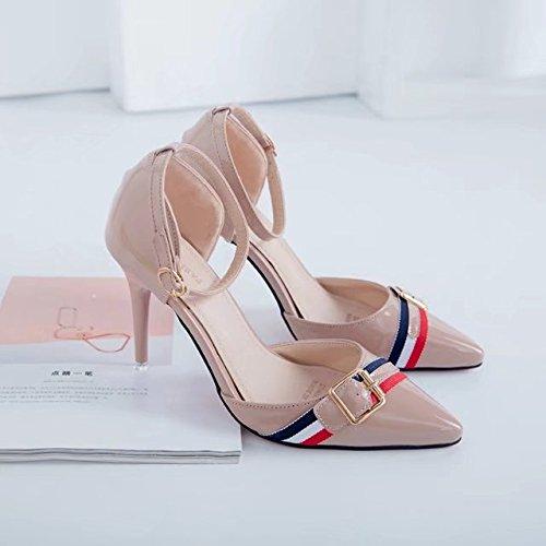 RUGAI-UE Moda Estate sandali tacchi Calzature Donna Pink