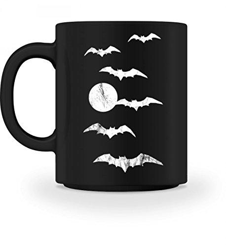 Hochwertige Tasse - Halloween Vollmond -