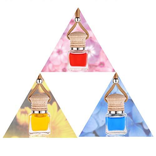 dljztrade - Set di 3 deodoranti per Auto, Decorazione da Appendere, per specchietto retrovisore, Mult