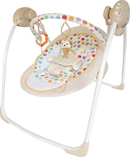 Bebe Style Rocker Cradling Musical Baby Swing – 2018 410lcoKEO3L
