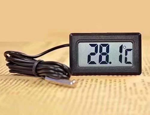 Waymeduo LCD Digital Thermometer Tester für Kühlschrank Aquarium