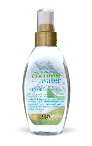 Organix Weightless Hydration Coconut Water Oil 118ml