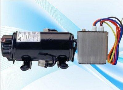 Gowe Truck Sleeper Klimaanlage R134A DC 12V Kompressor für Klimaanlage von Truck Cab Bergbau Konstruktion Maschine Crane Haltegriff (Klimaanlage Motor)