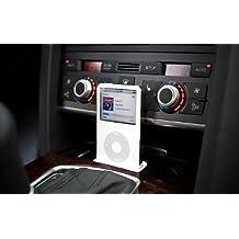 Audi A6 (C6) spec. Base de iPHONE 5 cenicero base de 2004 + AUDIC6V2I (left Hand drive)