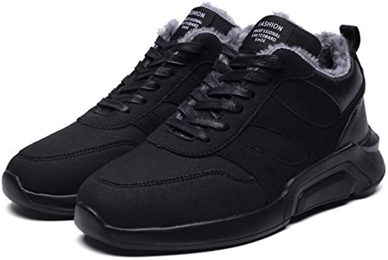Feifei Zapatos de los Hombres Materiales de Alta Calidad Deportes y Ocio Invierno Mantenga los Zapatos de la Placa...