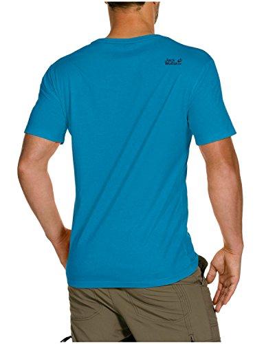 Jack wolfskin lawrence oC t-shirt m Turquoise - Turquoise