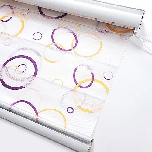 Datenschutz-jalousien,Blackout Walze schattierungen jalousien horizontal jalousien Fenster blind Vorhang Tuch plissiert stoffschirm-A 89x162cm(35x64inch)