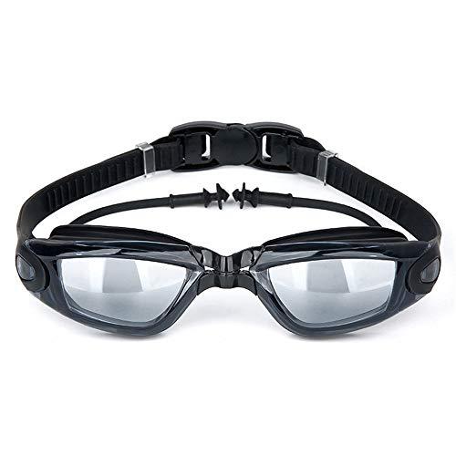HD Anti-fog Big Box Adulti Occhiali Da Nuoto Tappi Per Le Orecchie Siamesi Occhiali Da Nuoto, Impermeabile E Anti-fog Big Sight