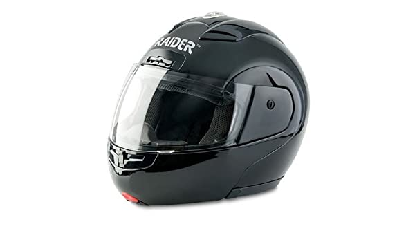a394e7ee Raider Modular Helmet (Black, X-Large): Amazon.in: Car & Motorbike