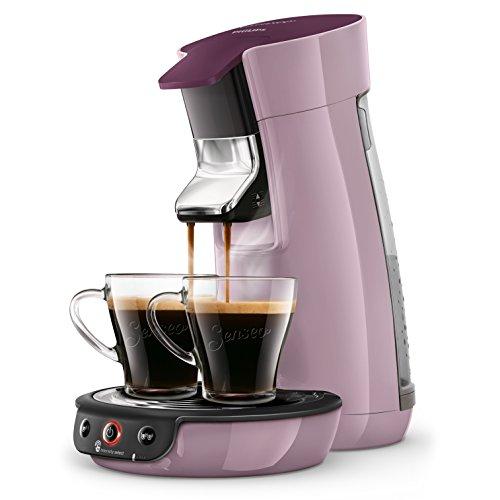 Philips hd6563/41Senseo Viva Kaffeepadmaschine 400100001, 0,9l, pastell-lila
