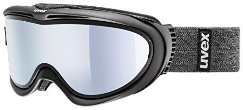 Uvex Comanche TOP Skibrille, Black mat, One Size