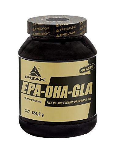 Peak EPA - DHA - GLA, 90 Kapseln, Fish Oil / Fischöl