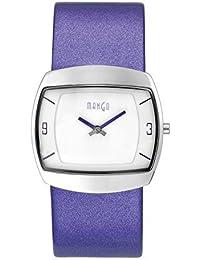 Mango A4654D9KV - Reloj de pulsera mujer, piel, color marrón