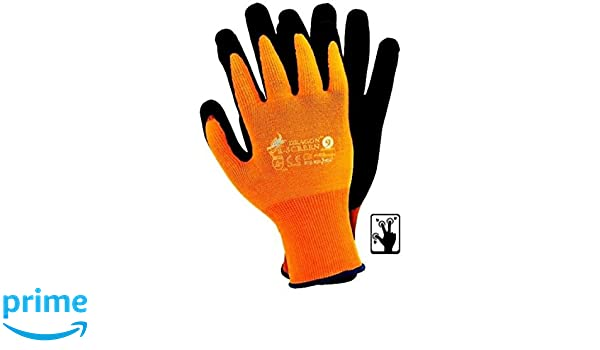 UCI Adept Touch-I.T Touch Screen Smart Phone Tablet Work Gloves Nitrile Palm