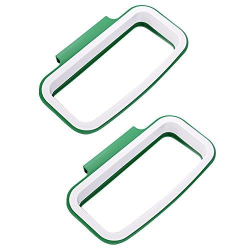 2 pz gancio tipo cucina armadio porta posteriore stile trash garbage spazzatura deposito borse titolare rack plastica mensola staffa cabinet portellone holder sacchetto