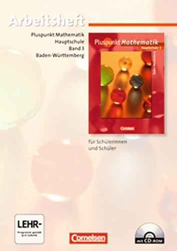 Pluspunkt Mathematik - Baden-Württemberg - Bisherige Ausgabe / Band 3 - Arbeitsheft mit Lösungen und CD-ROM,
