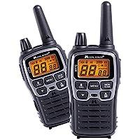 Midland C1180 XT70 - Radio Dual Band Ricetrasmittente Professionale Walkie Talkie Ricarica Rapida - Colore Grigio - 69 LPD e 24 PMR446, Raggio 12 km, 38 Toni, 83 Codici -  Set di 2 Ricetrasmettitori