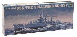 Trumpeter 05304 USS The Sullivans - Barco a escala Importado de Alemania