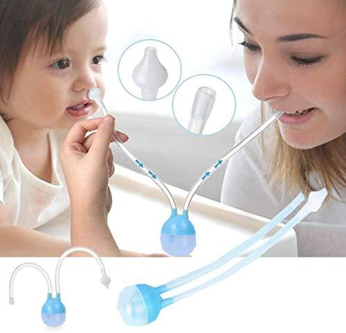 Aspirador Nasal para Mocos del Bebé - Azul