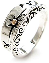 81d4d88ff5 Beydodo 925 Sterling Silber Ring Männer Goldene Sonne Freundschaftsringe  Partner Ring Silber