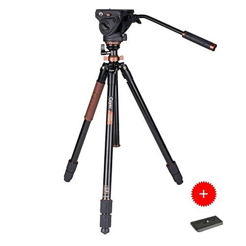 Un trépied vidéo à tête fluide d'un excellent rapport qualité/prix