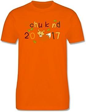 Einschulung - Schulkind 2017 Fuchs Herbst - Kinder T-Shirt