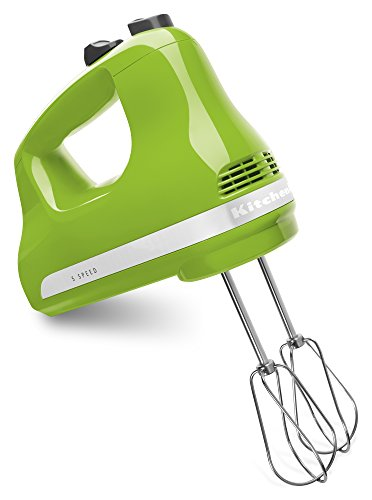 Ultra Power Series 5-speed Slide Control Hand Mixer Color: Green Apple