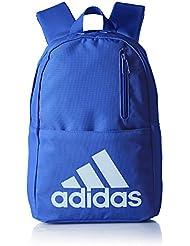 adidas Versatile Kids - Mochila para infantil, color azul, talla NS
