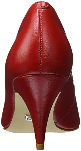 Buffalo Damen ZS 7446-16 Semi Cromo Pumps Rot (RED207)