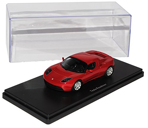 Tesla Roadster Rot 2008-2012 Pro.R43 1/43 Schuco Modell Auto