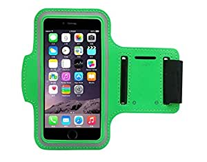 haPPeee Multi-Purpose Armband Phone Case for Sports Gym Running for Smartphones Apple iPhone 6 6S Plus Android Samsung Devices and more (5.5'' Green)