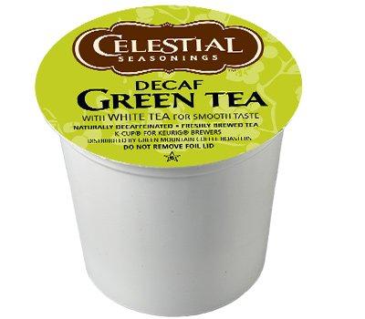Celestial Seasonings DECAF Green Tea K-Cup 48 Count Case - Casa Kcups