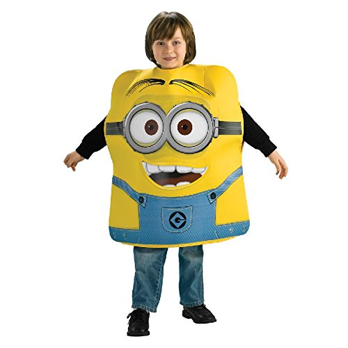 Rubie's Ich unverbesserlich 2 Kinder Kostüm Minion Dave zu Karneval Gr.S (Minion Dave Kinder Kostüm)