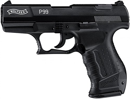 Walther Softair P99 mit Maximum 0.08 Joule schwarz M