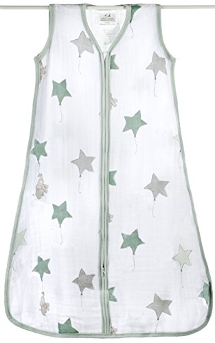 aden + anais 8064G Classic Sleeping Bag Up Up And Away, L