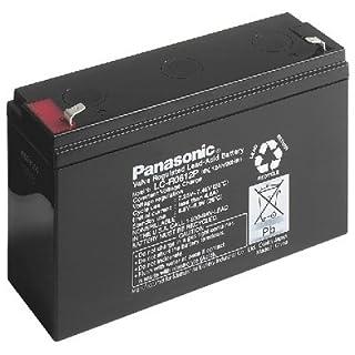 Panasonic LC-R0612P LCR0612P PB Blei Akku 6 Volt , 12 Ah Faston 4,8 +/-