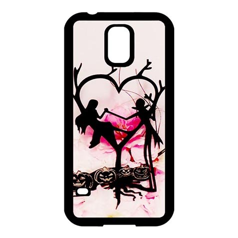 Clear Personalized The Nightmare Before Christmas Samsung Galaxy S5 Smooth Schutzhülle Handy Case