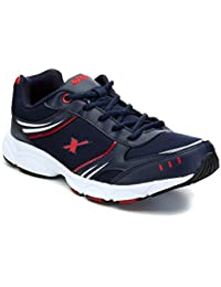 Sparx Men's Navy Blue And Red Running Shoes (SX0316G) - 7 UK