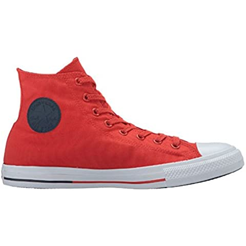 Converse Womens Chuck Taylor All Star Hi Counter Climate Red Canvas (40 Counter)