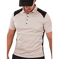 Brickfielder Optimal Conditions Relief - Polo de golf para hombre, color Antique White, tamaño XXXL