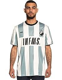 296476eeadd24 Grimey Camiseta Half of IT Soccer tee SS18 Grey