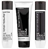 MATRIX TOTAL RESULTS RE-BOND TRIO, Re-Bond Shampoo 1 (300ml), Re-Bond Pre-Conditioner 2 (200ml), Re-Bond Conditioner 3 (300ml)