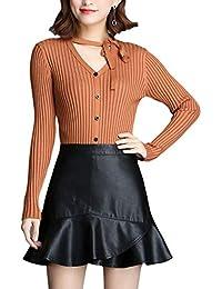 1bf1f9c609bb Suchergebnis auf Amazon.de für: Lederrock Lederrock: Bekleidung
